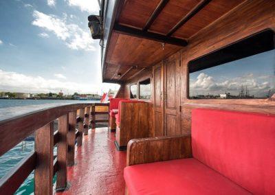 The Suite, Balcony - La Galigo Liveaboard-min