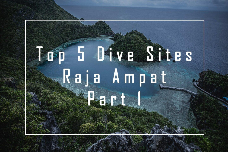 Top 5 Raja Ampat Dive Sites – Part 1